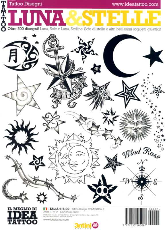 Tattoo Vol2 Luna Stelle Bild vergr ern