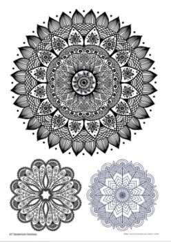 Sina Shop Mandala Tattoo Vorlagen