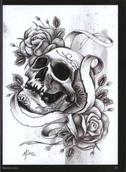 Sina Shop Tattoo Design Collection Calaveras Vol 2 Schadel
