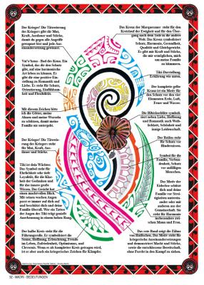 Maori zeichen und bedeutung