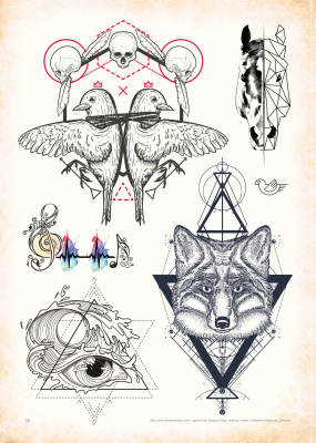 Zet Mediashop Tattoovorlagen Steve Soto Religious