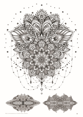 Sina Shop Mandala Vol 3 Extreme Motive Tattoo Vorlagen