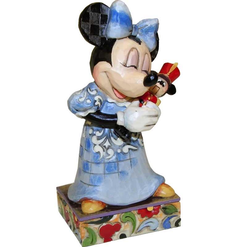 Sina-Shop - Minnie Maus als Maria - Deko Figur
