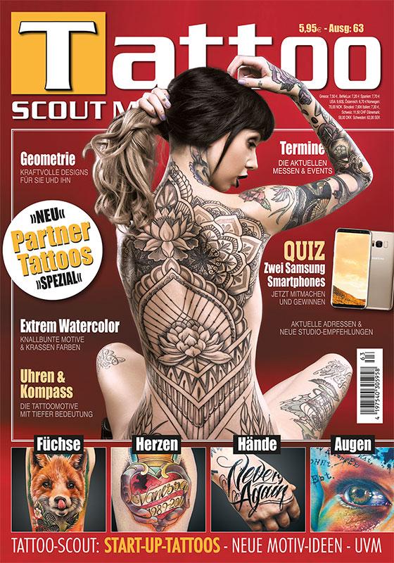Sina shop tattoo studio magazin ausgabe 63 for Tattoo shops in kenner